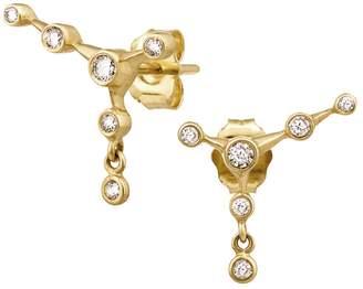 Celine Daoust Diamond Constellation Stud Earrings