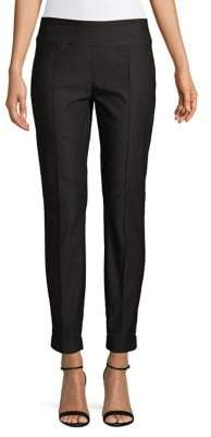 Lord & Taylor Flat-Front Ankle-Length Pants