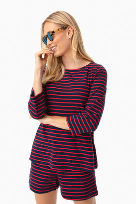 Jo-Jo Tuckernuck Navy Striped Jojo Top