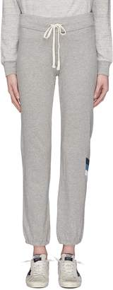James Perse Stripe graphic print outseam sweatpants