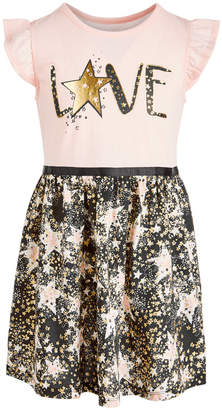 Epic Threads Toddler Girls Love Star-Print Dress, Created for Macy's