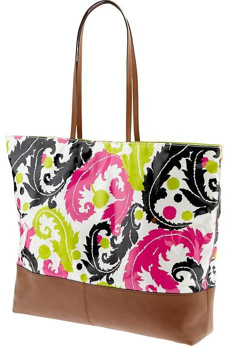 Banana Republic Milly Collection Coated Tote