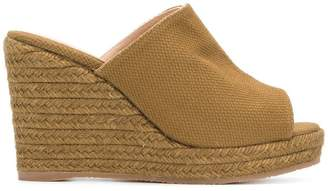 Castaner woven platform wedge sandals
