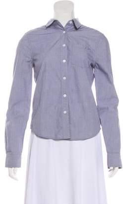 Kate Moss x Equipment Long Sleeve Button-Up Top