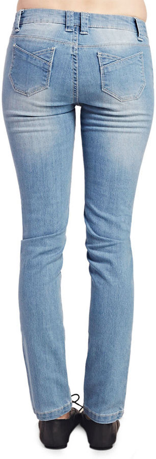 Wet Seal Fashionista Skinny Jeans - Short