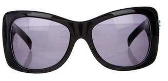 Jimmy Choo Oversize Butterfly Sunglasses