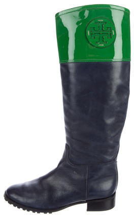 Tory Burch Tory Burch Colorblock Riding Boots