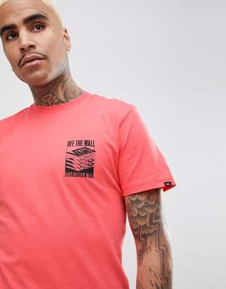 Vans Dubarry T-Shirt With Back Print In Pink VA3HEVEIY