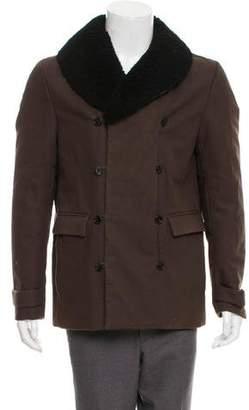 3.1 Phillip Lim Woven Zip-Up Jacket