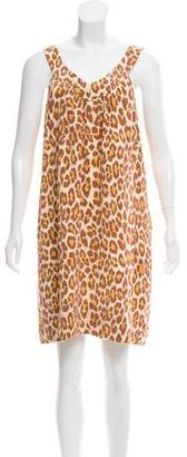 Marc by Marc Jacobs Silk Sleeveless Mini Dress