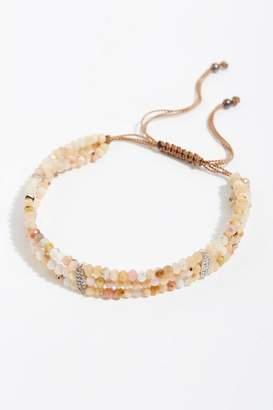 Feathered Soul Opal Diamond Bracelet