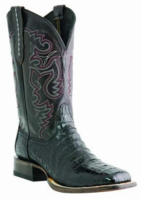 Lucchese Men's Handcrafted 1883 Caiman Belly Cowboy Boot Square Toe