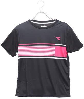 Diadora (ディアドラ) - ディアドラ Diadora レディース テニス 半袖Tシャツ W CSC グラフィックトップ DTP8595