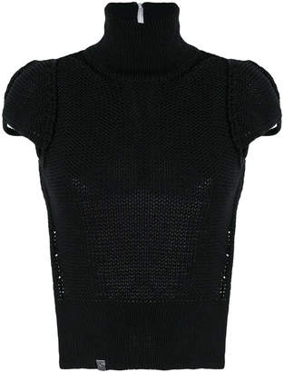 Alyx cap sleeve knit top