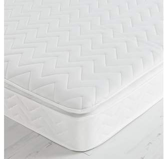 Airsprung Sleepwalk Sprung Pillowtop Mattress - Single
