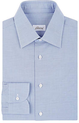 Brioni Men's Cotton Dress Shirt - Blue