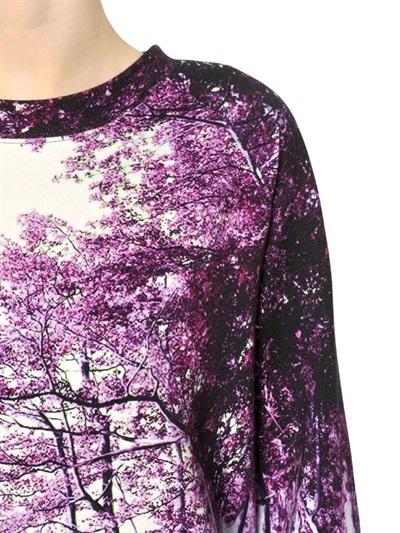 Mary Katrantzou Cotton Fleece Sweatshirt