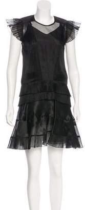 Isabel Marant Silk-Blend Dress
