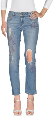 Manila Grace DENIM Denim pants - Item 42577929BQ