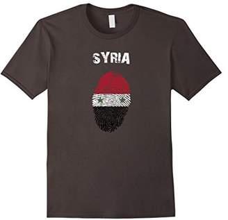 Syria Fingerprint Flag Country Pride Heritage Shirt