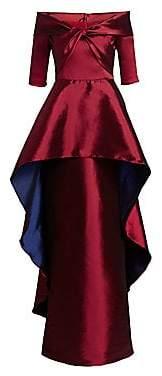 Teri Jon by Rickie Freeman by Rickie Freeman Women's Twist Front Gown