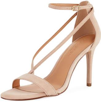 Halston Evie Suede V-Strap Dressy Sandal