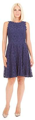 Tiana B Women's Lace Fit and Flare Dress