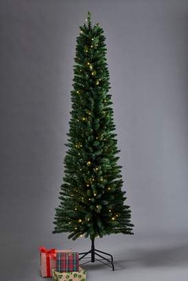 Next 150 LED Slim Pine 7ft Christmas Tree