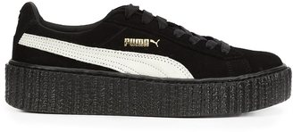 Puma lateral detailing sneakers $241.88 thestylecure.com