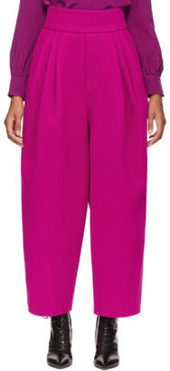 Marc Jacobs Pink High-Waisted Trousers