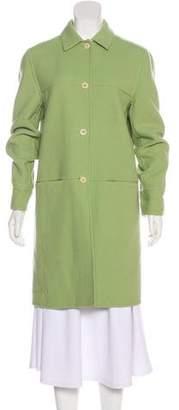 Salvatore Ferragamo Virgin Wool Knee-Length Coat