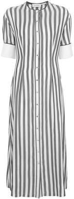 Yigal Azrouel striped shirt dress