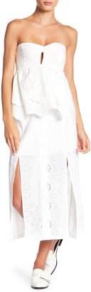 BB Dakota Eyelet Knit Maxi Skirt