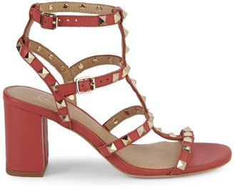 Ash Sublime Studded Leather Sandals