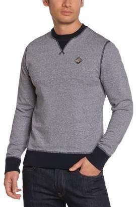 Schott NYC Schott Men's SWFALCON1 Plain or unicolor Round Collar Long sleeve Sweatshirt - - (Brand size: XXL)
