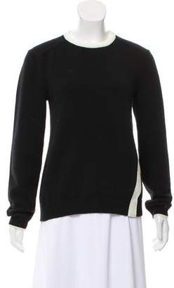 Paco Rabanne Merino Wool Long Sleeve Sweater