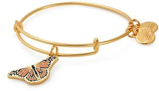 Alex and Ani Charity by Design Monarch Butterfly Charm Bracelet
