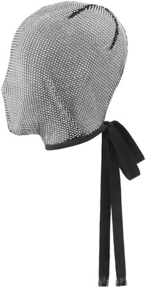 Crystal embroidered mesh mask $980 thestylecure.com