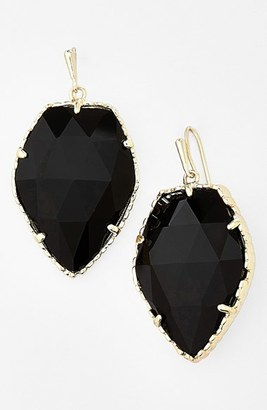 Women's Kendra Scott 'Corley' Faceted Stone Drop Earrings $75 thestylecure.com