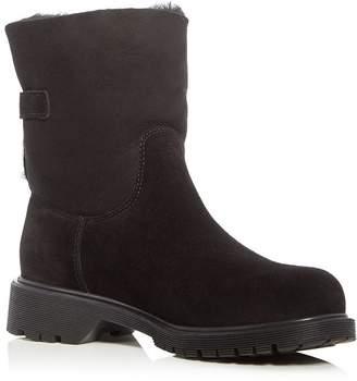 La Canadienne Honey Shearling-Lined Waterproof Boots