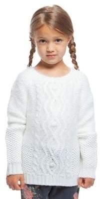Dex Little Girl's Ivy Cable-Knit Sweater