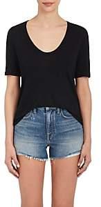 Alexander Wang Women's Scoopneck T-Shirt-Black