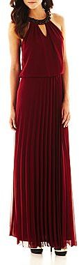 JCPenney Bisou Bisou® Pleated Maxi Dress