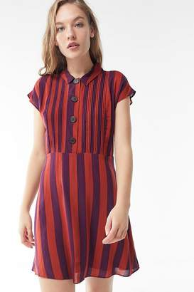 Urban Outfitters Nancy Short Sleeve Shirt Dress