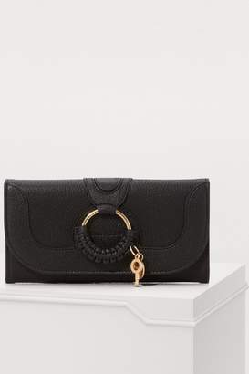 See by Chloe Hana long wallet