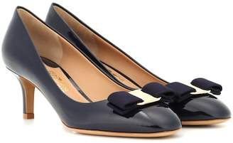 Salvatore Ferragamo Vara Bow patent leather pumps