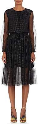 Philosophy di Lorenzo Serafini Women's Star-Print Tulle Midi-Dress