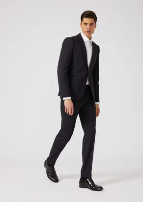 Emporio Armani Slim Fit Tropical Wool Tuxedo