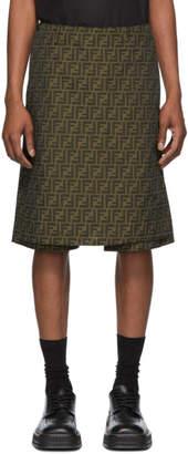 Fendi Brown Forever Shorts