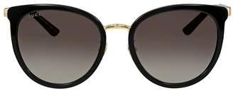 Gucci Grey Gradient Sunglasses